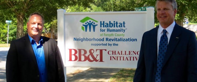 Habitat Forsyth Announces BB&T Challenge Grant of $750,000