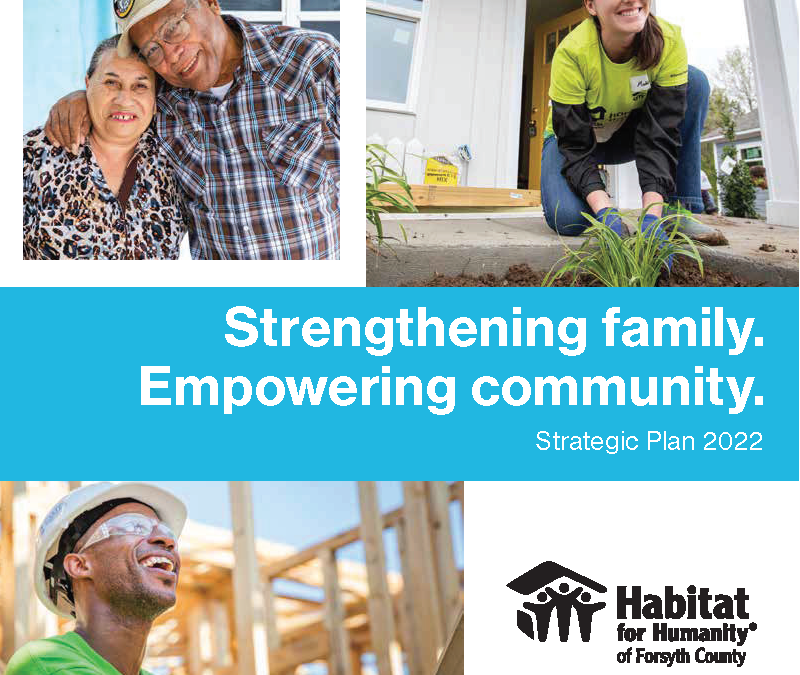 Strategic Plan 2022: Strengthening family. Empowering community.